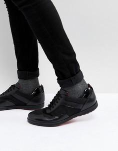 Черные кроссовки HUGO - Черный