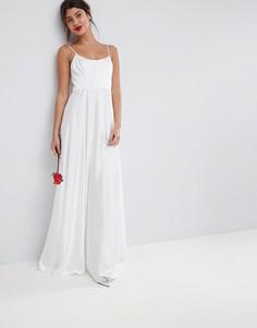 Платье макси ASOS BRIDAL - Белый