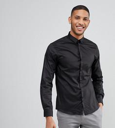 Облегающая рубашка со скрытой планкой Noak - Черный