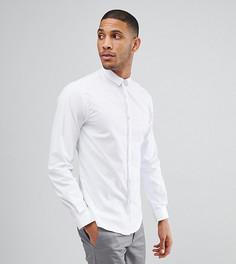 Облегающая рубашка со скрытой планкой Noak - Белый