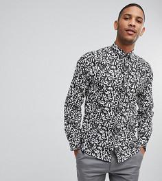 Приталенная рубашка с принтом Noak - Мульти