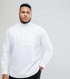 Приталенная рубашка Noak PLUS - Белый