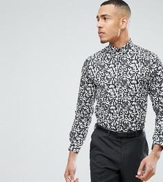 Облегающая рубашка с принтом Noak TALL - Мульти