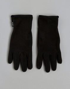 Перчатки с силиконовой вставкой на ладони Barts - Черный
