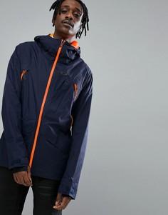 Темно-синяя водонепроницаемая горнолыжная куртка Oakley Vertigo BZS - Темно-синий