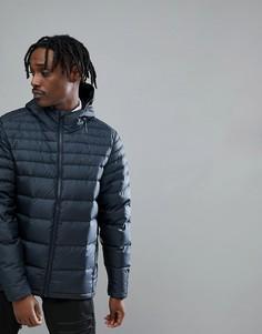 Черная складывающаяся пуховая куртка с капюшоном Oakley - Черный