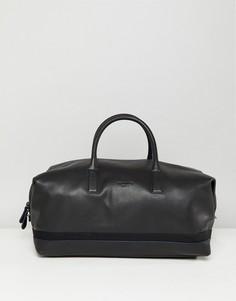 Кожаная сумка Ted Baker Mylo - Черный