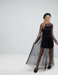 Платье миди Pimkie - Черный