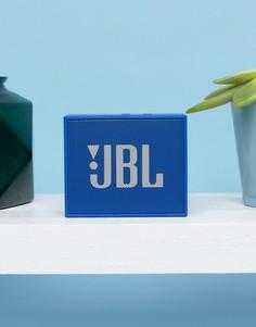 Синий переносной Bluetooth-динамик JBL Go - Мульти