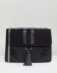 Черная сумка на плечо Skinnydip Lightning Laureli - Черный