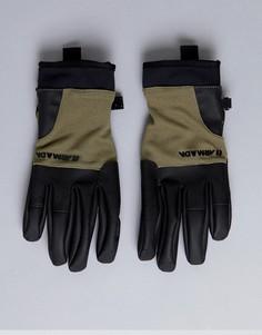 Перчатки с флисом Armada Throttle - Зеленый