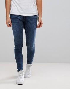 Темные джинсы Diesel Stickker - Темно-синий