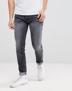 Серые джинсы Diesel Sleenker - Серый