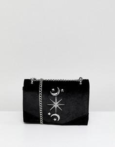 Клатч с декоративной отделкой Pimkie - Черный