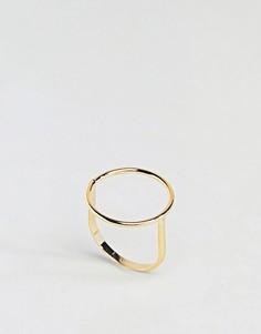 Кольцо ограниченной серии с кругом - Золотой Asos