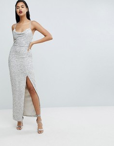 Платье макси с пайетками Forever New - Мульти