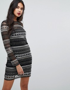 Платье миди с пайетками Forever New - Мульти