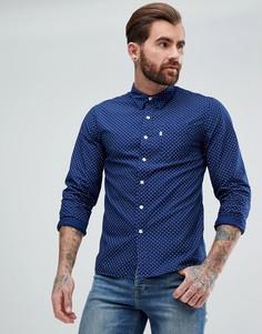 Рубашка в горошек с карманом Levis Sunset - Темно-синий Levis®