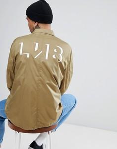 Спортивная куртка с логотипом на спине Levis Line 8 - Зеленый