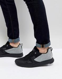 Черно-белые кроссовки PS Paul Smith Rappid - Черный