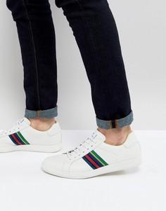 Белые кожаные кроссовки PS Paul Smith Lapin - Белый