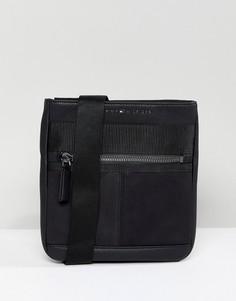 Черная сумка для авиапутешествий из искусственной кожи Tommy Hilfiger - Черный