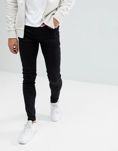 Черные супероблегающие джинсы Blend Lunar - Черный
