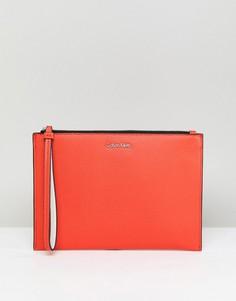 Кошелек из искусственной кожи Calvin Klein - Оранжевый