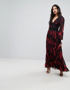 Платье макси с принтом Forever New - Мульти