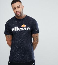 Черная футболка с эффектом кислотной стирки Ellesse - Черный