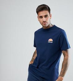 Темно-синяя футболка для дома с маленьким логотипом Ellesse - Темно-синий