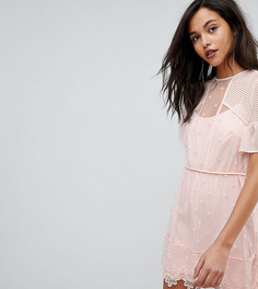Эксклюзивное платье с вышивкой Stevie May - Розовый