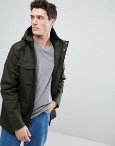 Куртка с капюшоном и 4 карманами Brave Soul - Зеленый