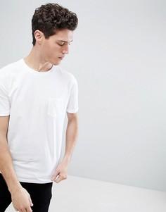 Свободная белая футболка Burton Menswear - Белый