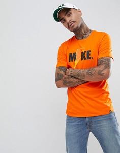 Оранжевая футболка Nike Jordan Like Mike AJ1163-819 - Оранжевый