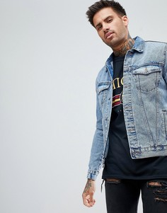 Светлая джинсовая куртка New Look - Синий