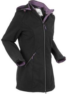 Куртка-стретч софтшелл (черный) Bonprix