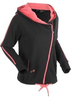 Трикотажная куртка (черный) Bonprix