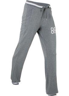 Спортивные брюки стретч (серый меланж) Bonprix