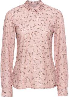 Блузка в цветочек (винтажно-розовый в цветочек) Bonprix