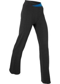 Спортивные брюки-стретч (черный) Bonprix