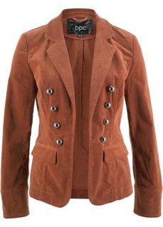 Вельветовый пиджак (орехово-коричневый) Bonprix