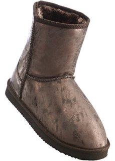 Зимние ботинки (коричневый металлик) Bonprix