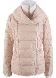 Стеганая куртка 2 в 1 (телесный/кремовый) Bonprix