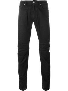байкерские джинсы кроя скинни Versace
