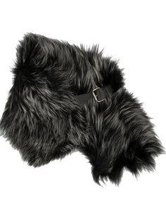 шарф из меха с ремешком Fendi