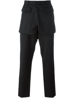 брюки с накладными панелями D.Gnak