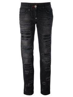 джинсы-бойфренд Philipp Plein