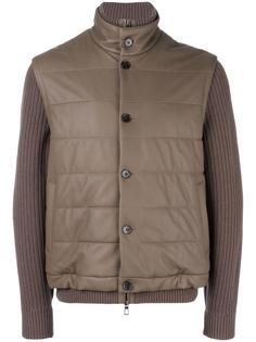 куртка с рукавами в рубчик Loro Piana