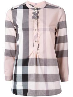клетчатая рубашка с планкой спереди Burberry